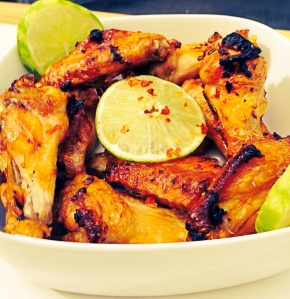 Lime and Red Pepper Flake Chicken Wings