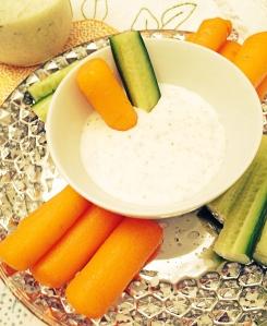 Ranch yogurt dressing/dip