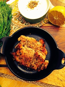 Za'atar Spiced Chicken