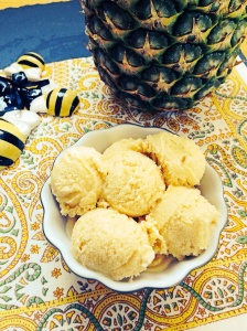 Disney Inspired Pineapple Ice cream