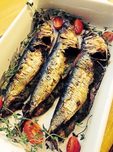 Charbroiled Sardines with Parsley and Thyme