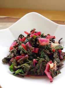 Gingered Rainbow Chard