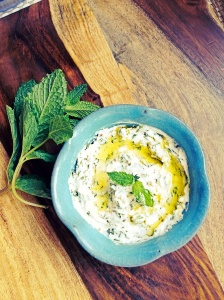 Creamy Herbed Feta Cheese Spread