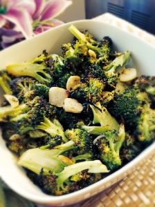 Roasted Broccoli and Garlic