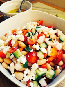 White Bean Salad With Lemon Cumin Dressing
