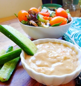 Mother's Market Inspired-Tahini Salad Dressing