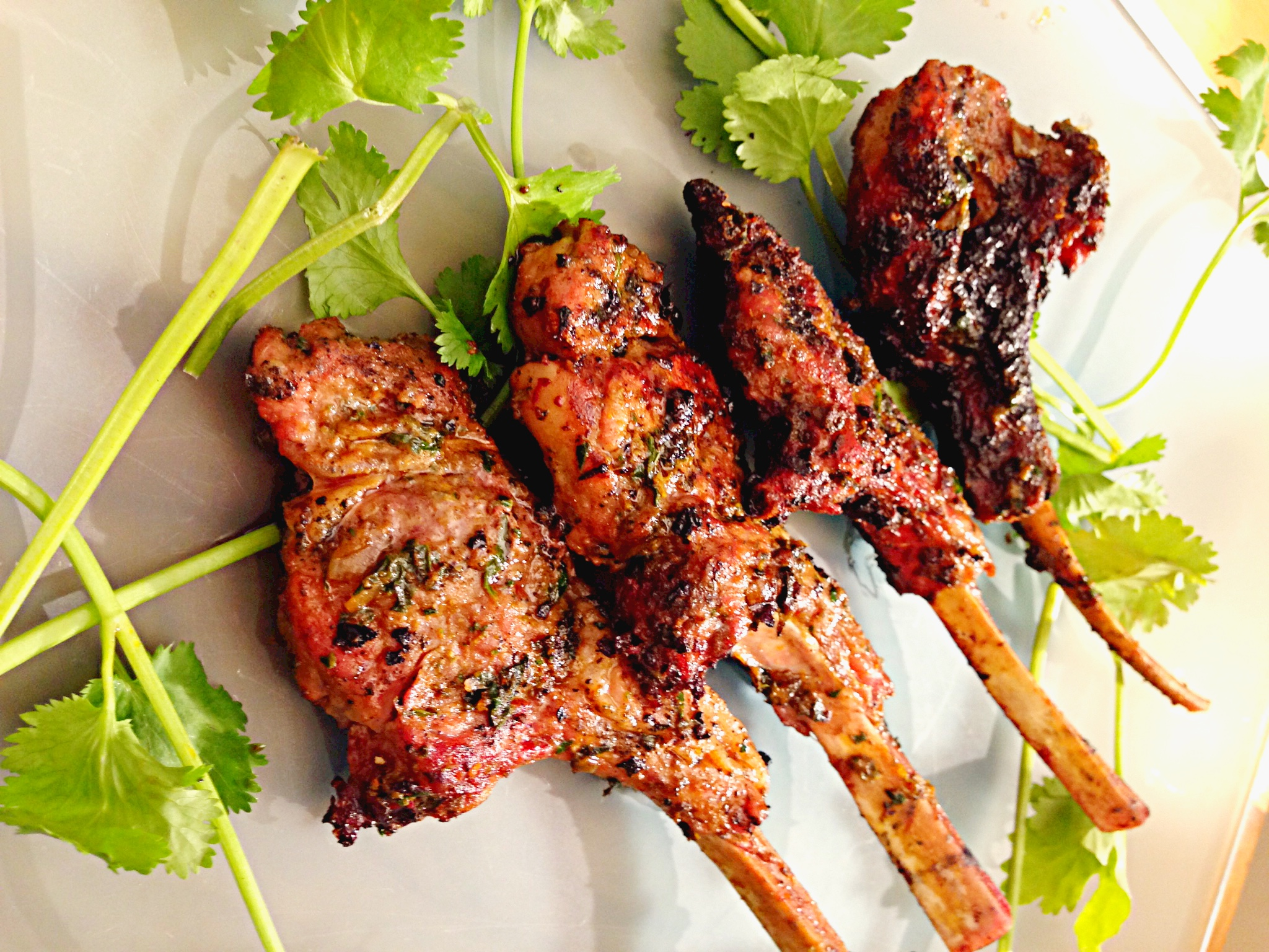 chops spiced lamb chops rosemary crusted lamb chops herb roasted lamb ...