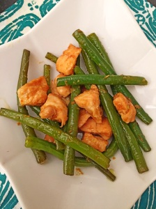 Green beans with Chicken