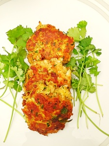 Curry Crab Cakes