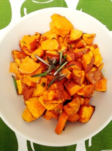 Oven Roasted Sweet Potatoes With Rosemary