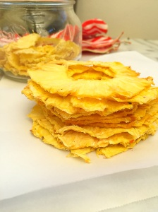 Dehydrated Pineapple Rings