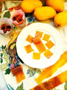 DIY Mango Fruit Roll-Ups
