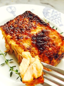 Miso Buttered Salmon